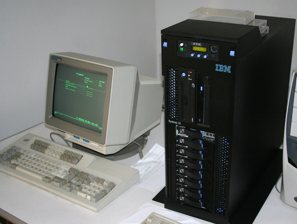 legacy system AS400